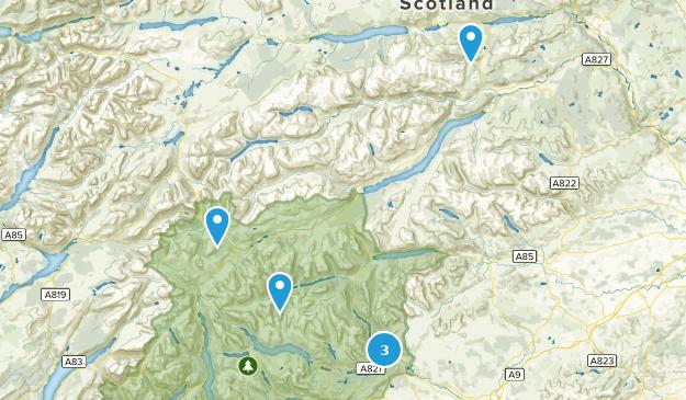 Stirling, Scotland River Map
