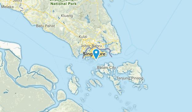 Central Singapore, Singapore Parks Map