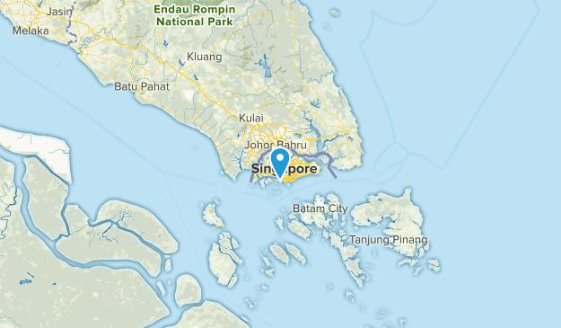 North West, Singapore Parks Map