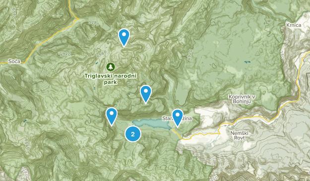 Bohinj, Slovenia Views Map