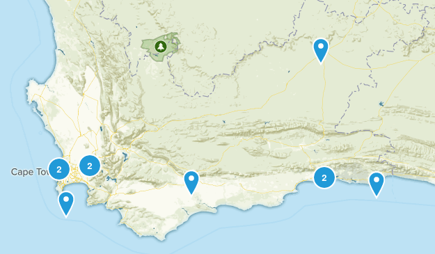 Western Cape, South Africa Kid Friendly Map