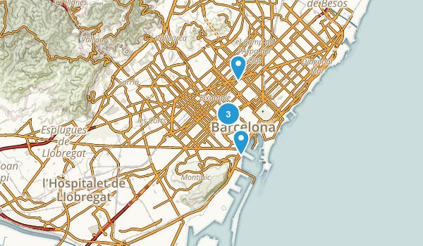 Barcelona, Spain Kid Friendly Map