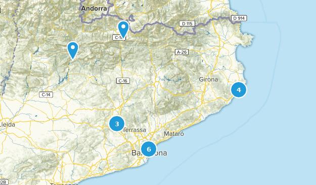 Catalonia, Spain Kid Friendly Map