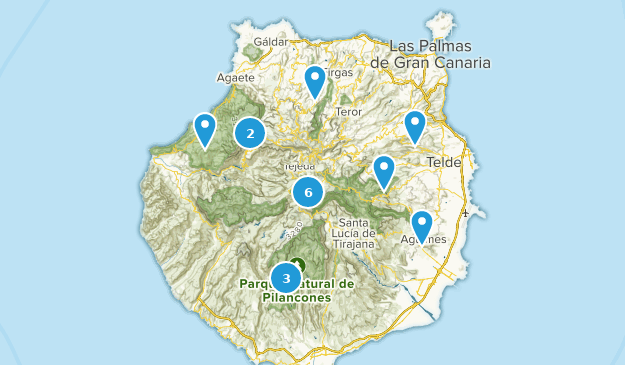 Map Of Spain Gran Canaria.Best Parks In Gran Canaria Spain Alltrails