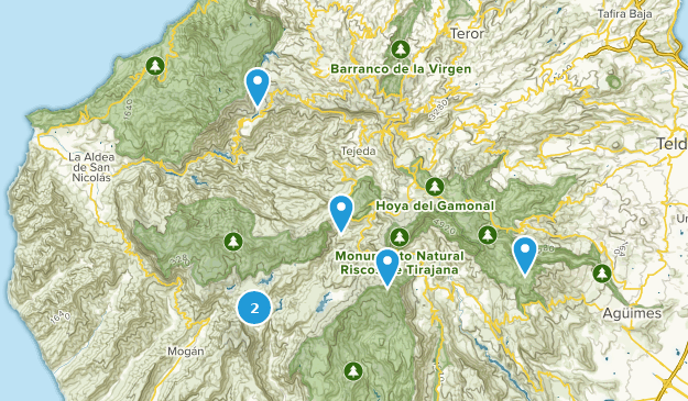 Map Of Spain Gran Canaria.Best Wildlife Trails In Gran Canaria Spain Alltrails