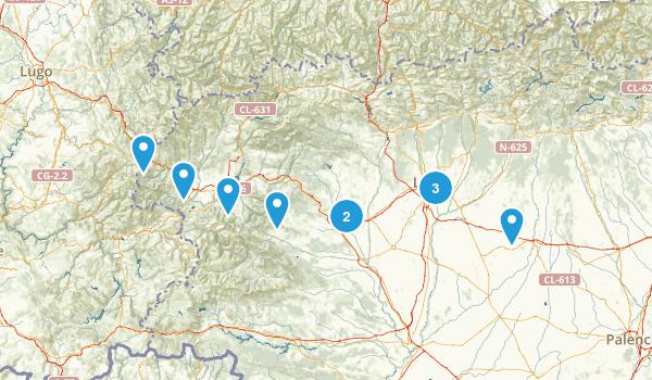 León, Spain Birding Map