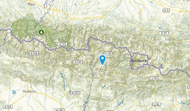 Lleida, Spain Parks Map