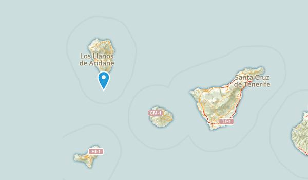 Santa Cruz de Tenerife, Spain Parks Map