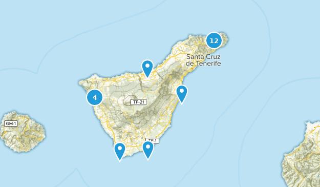 Map Of Spain Tenerife.Best Beach Trails In Tenerife Spain Alltrails