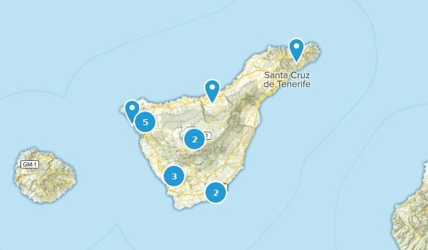 Map Of Spain Tenerife.Best Walking Trails In Tenerife Spain Alltrails