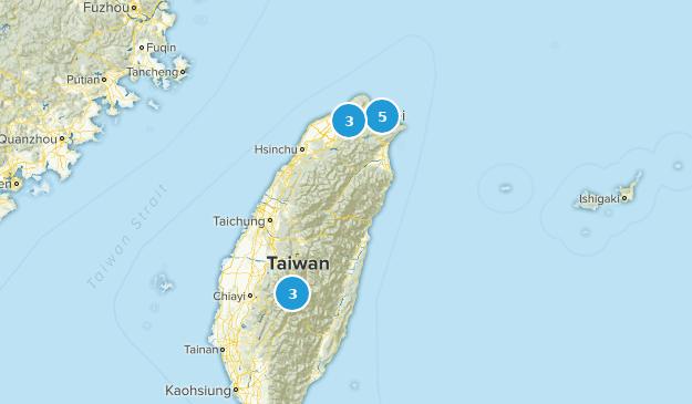 New Taipei City, Taiwan Views Map