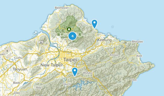 Taipei City, Taiwan Bird Watching Map