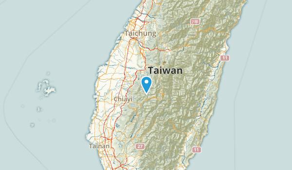 Yunlin, Taiwan Parks Map