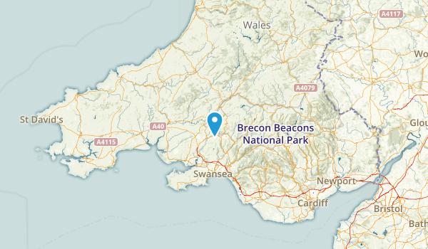 CMN, United Kingdom Parks Map