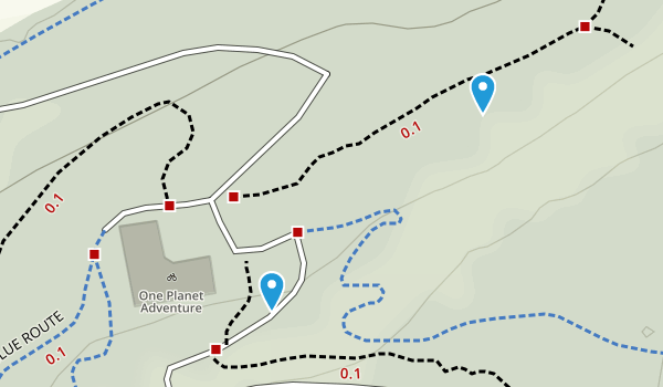 Denbighshire, United Kingdom Parks Map