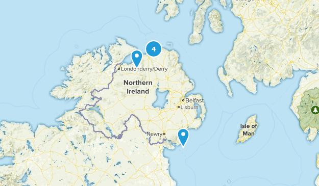 Northern Ireland, United Kingdom Kid Friendly Map