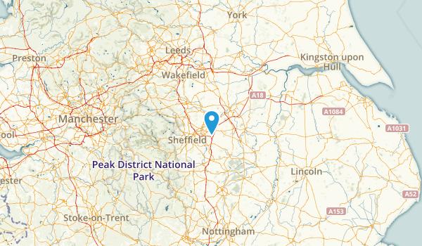 Rotherham, United Kingdom Parks Map