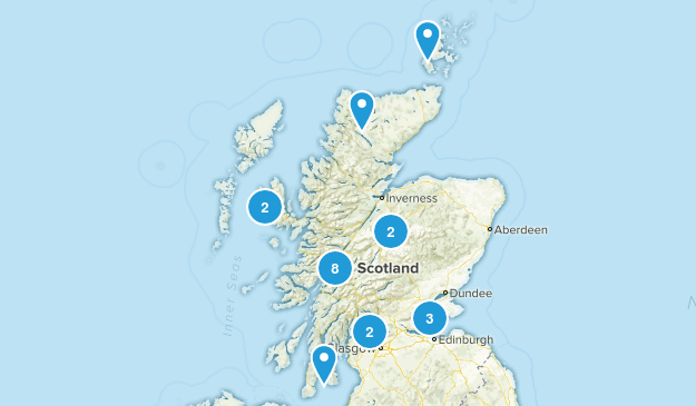 Scotland, United Kingdom Birding Map