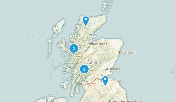 Scotland, United Kingdom Dog Friendly Map