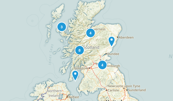 Scotland, United Kingdom Kid Friendly Map