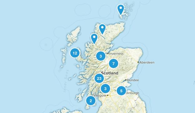 Scotland, United Kingdom Nature Trips Map