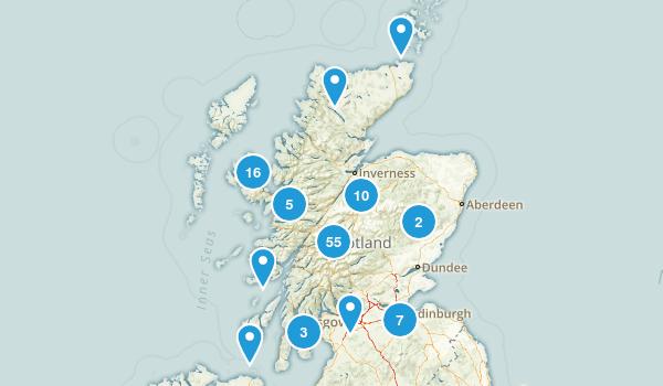 Scotland, United Kingdom Views Map