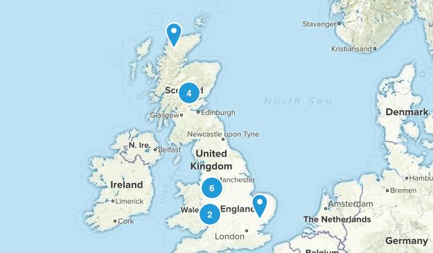 Staffordshire, United Kingdom Views Map