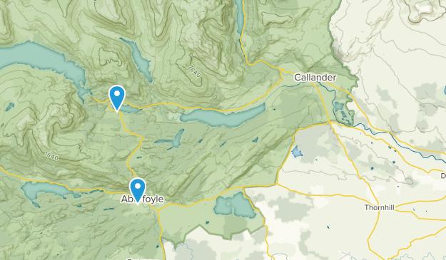 Stirling, United Kingdom Parks Map