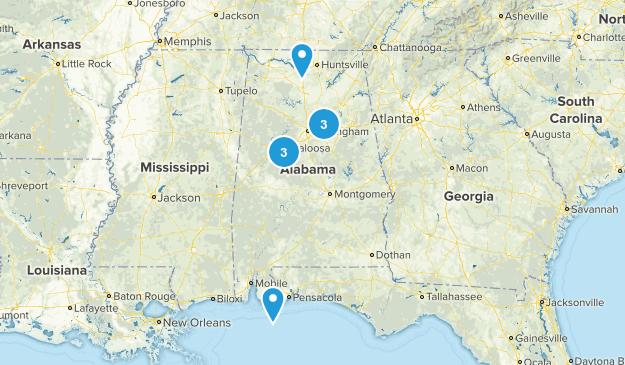 Alabama Wheelchair Friendly Map