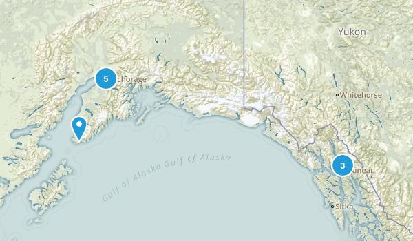 Alaska Wheelchair Friendly Map