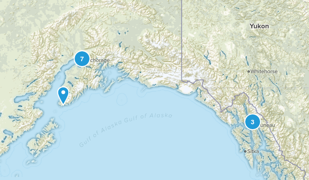 Alaska Wheelchair Friendly Map