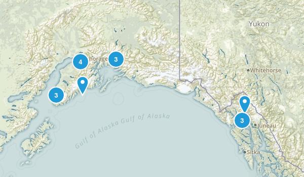 Alaska Beach Map