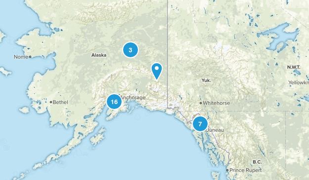 Alaska Cross Country Skiing Map