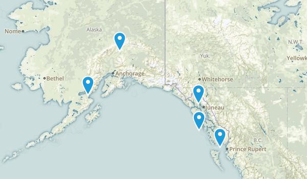 Alaska Fishing Map
