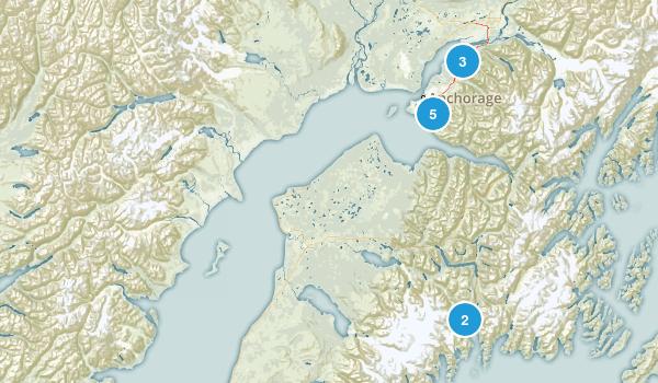 Alaska Local Parks Map