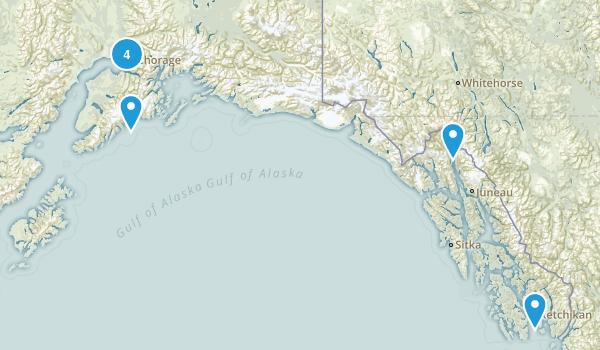 Alaska Paddle Sports Map