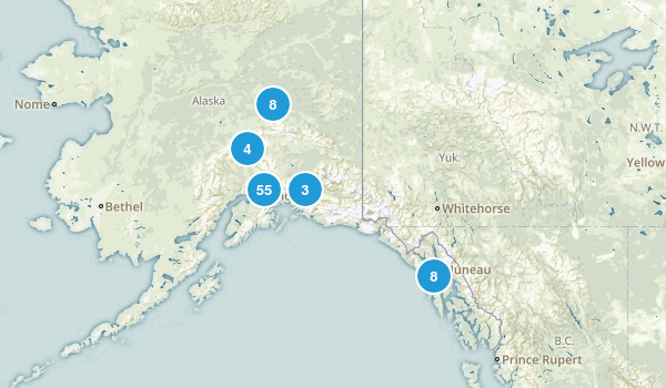 Alaska State Parks Map