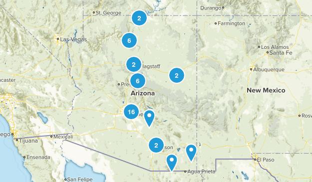 Arizona Wheelchair Friendly Map