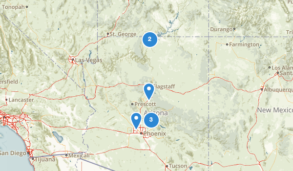 Arizona Fly Fishing Map