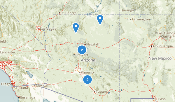 Arizona Historic Site Map