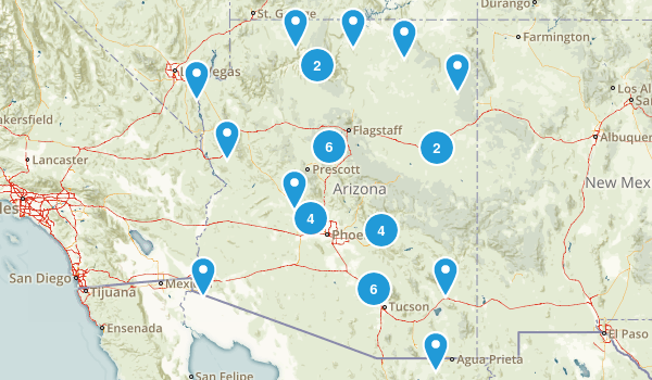 Arizona Historic Site Map