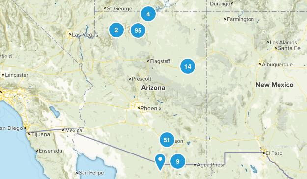 Arizona National Parks Map
