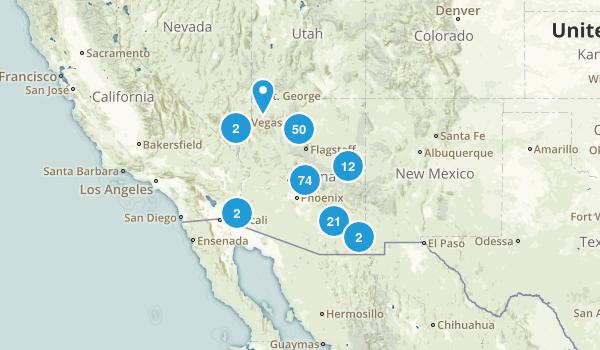Arizona River Map