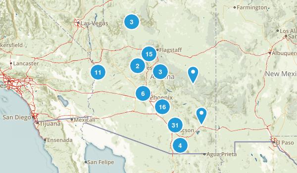 Arizona State Parks Map