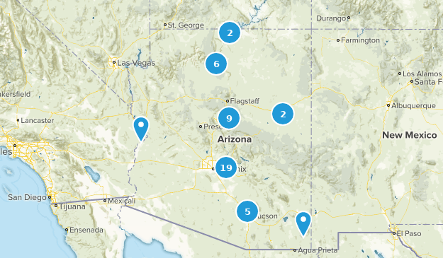 Arizona Stroller Friendly Map