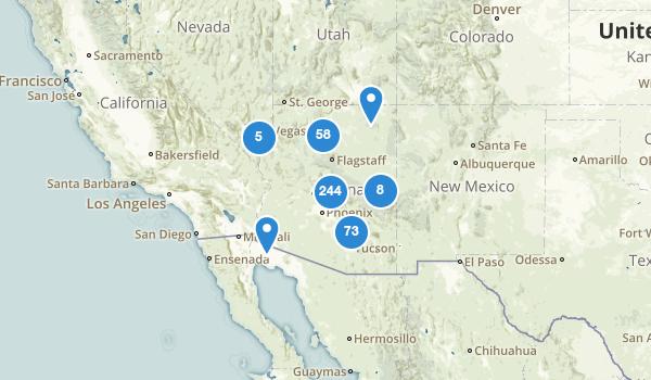 Arizona Trail Running Map