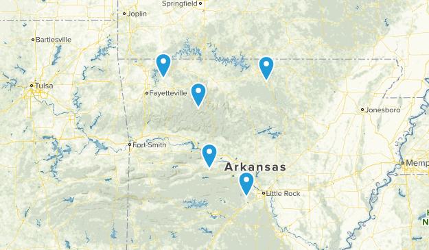 Arkansas Beach Map