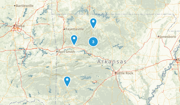Best Off Road Driving Trails In Arkansas Photos Reviews - Us driving map