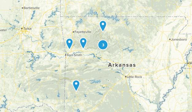 Arkansas Off Road Driving Map