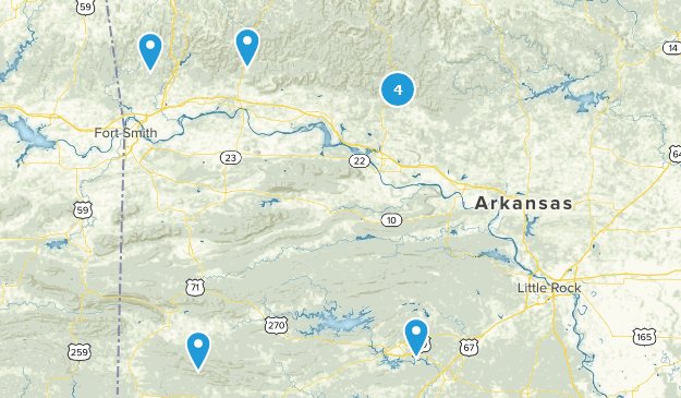 Best Off Road Driving Trails in Arkansas | AllTrails  X Road Ouachita Mountains Map on